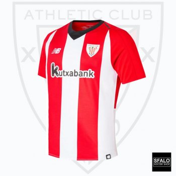 New Balance Athletic Bilbao 18/19 (H) S/S MT830148RCR with Club Nameset