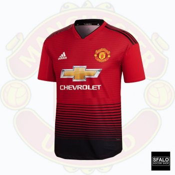 Adidas Manchester United 18/19 (H) Jersey CG0040 with Club Nameset