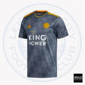 Adidas Leicester City 18/19 (A) S/S DM3414 With EPL Nameset