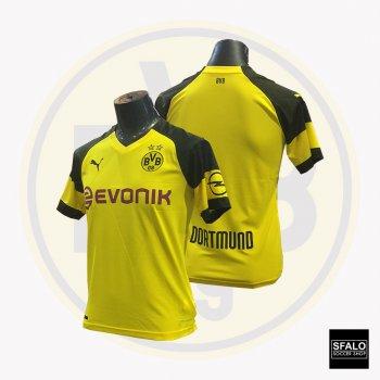 Puma BVB Dortmund 18/19 (H) Kid's Jersey 753312-01