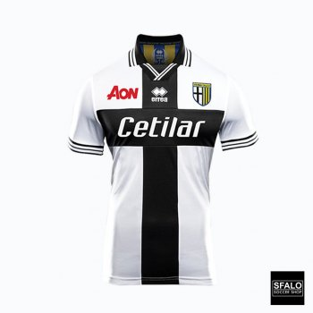 Errea Parma Calcio 1913 18/19 (H) Jersey With Nameset