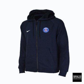 AS PSG M NSW HOODIE FZ OPTIC BLACK/MIDNI