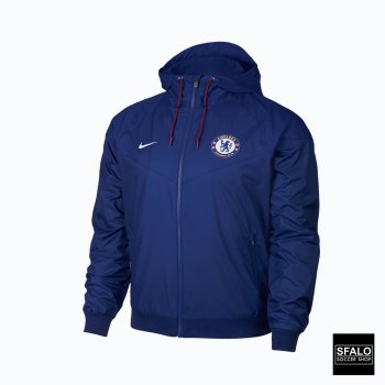 Nike CFC M NSW WR WVN AUT RUSH BLUE/RUSH BLUE