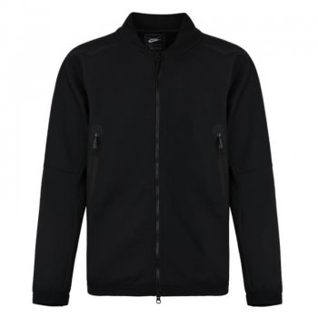 Nike AS M NSW TCH PCK JKT TRK WVN BLACK/BLACK