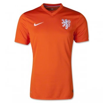 Nike National Team 2014 World Cup Netherlands (H) Authentic S/S 577960-815