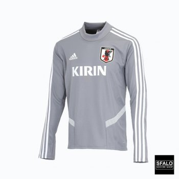 Adidas Samurai JAPAN National Team Football Training Top 2019 CK9748 Gray