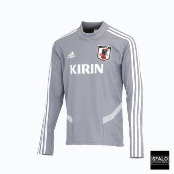 Adidas Samurai JAPAN National Team Football Training Top 2019 CK9748 Gray