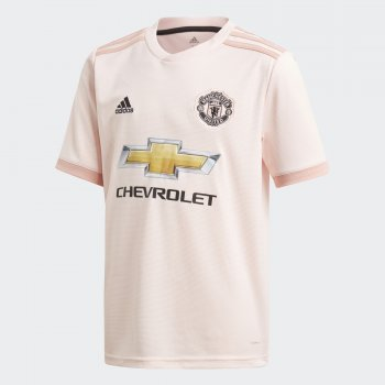 Adidas Man Utd 18/19 MUFC (A) Boys Size Jersey CG0055