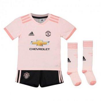 Adidas Man Utd 18/19 MUFC (A) Baby Set Jersey CG0060