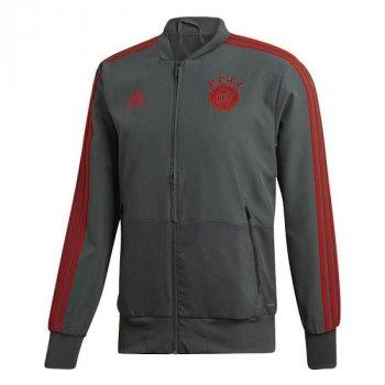 adidas FC Bayern 18/19 Presentation Jacket Grey
