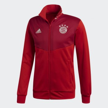 adidas FC Bayern 18/19 3-STRIPES TRACK JACKET RED CW7335