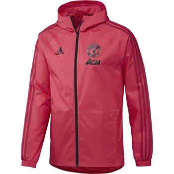 ADIDAS MUFC 18/19 RAIN JKT - RED CW7637