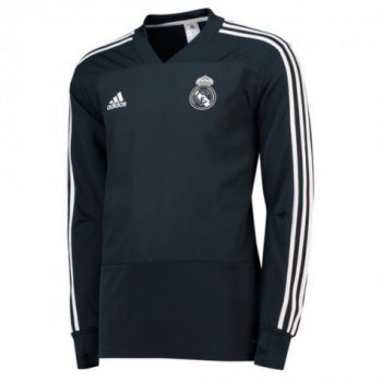 ADIDAS REAL 18/19 TRAINING TOP - BLK CW8649