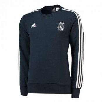 Adidas Real Madrid 2018-19 Men Football Soccer TRAINING SWEATER TOP CW8691