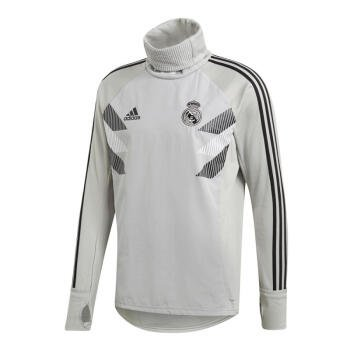 Adidas Real Madrid 2018-19 Men Football Soccer TRAINING TOP Shirt CW5833