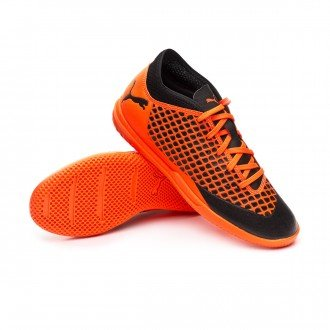 FUTURE 2.4 TT PUMA BLACK-SHOCKING ORANGE 104841-02