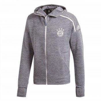 Adidas FCB 18/19 ZNE HOODIE - GREY CY6101