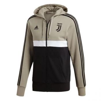 Adidas JUV 18/19 3S FZ HOODIE - BRN/BLK CW8783