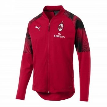PUMA AC MILAN 18 STADIUM POLY JACKET 754864 -02 RED