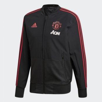 Adidas MUFC 18/19 PRE JKT - BLACK CW7628