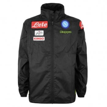 KAPPA SSC NAPOLI 18/19 JACKET BLK 303HD0