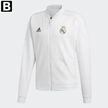 Adidas REAL 18/19 ZNE JKT - WHT CY6098