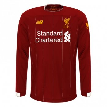 New Balance Liverpool 19/20 (H) Junior L/S Jersey JT930005