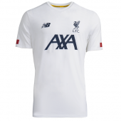 New Balance Liverpool 19/20 Pre Game Jersey White MT931001WT