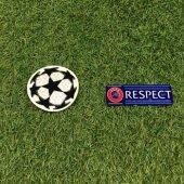 UEFA Champions League Badge + Respect Badge