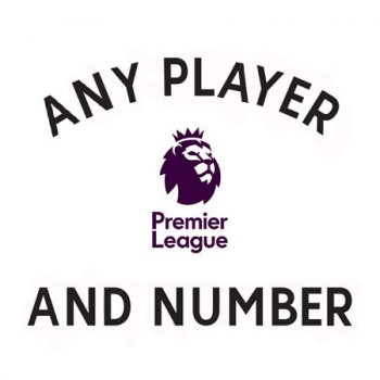 English Premier League 2017-2018 Official Sporting ID Letter & Number