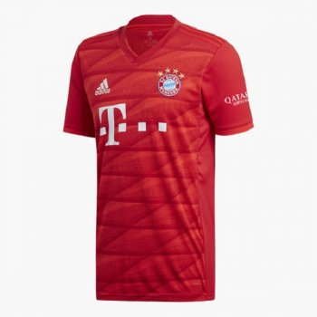 Adidas FC Bayern Munich 19/20 (H) S/S JSY DW7410 with Nameset