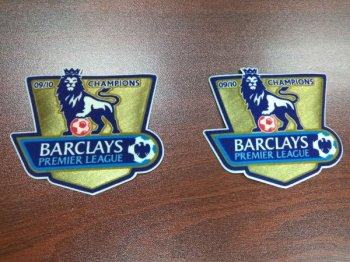 EPL 09/10 CHAMPIONS BADGE (Chelsea ) 2PCS