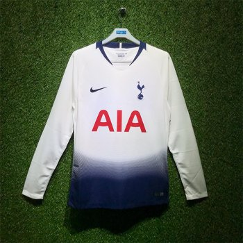 Nike Tottenham Hotspur 18/19 (H) Men's LS Jersey AA8059-101 with Printing
