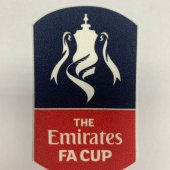 England Emirates FA CUP Badge (1pcs)