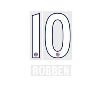 FC BAYERN 18/19 H WHT #10 ROBBEN