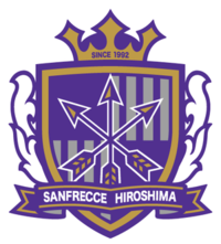 SANFRECCE HIROSHIMA 廣島三箭 19 Nameset