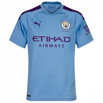 Puma Manchester City 19/20 (H) Authentic Shirt 755585-01