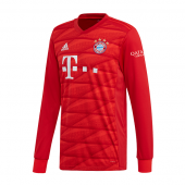 Adidas FC BAYERN 19/20 Home Long Sleeve Shirt DX9250