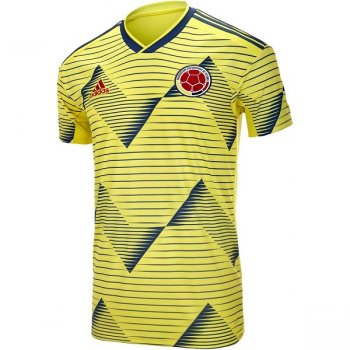 Adidas Colombia 2019 Home Jersey DN6619 With Nameset