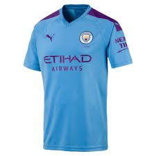 Puma Manchester City 19/20 (H) Replica S/S 75558601