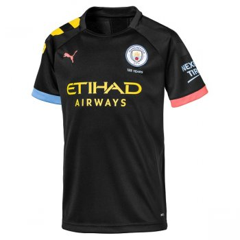 Puma Manchester City 19/20 (A) Replica S/S Boy 755592-02