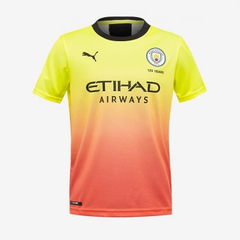 Puma Manchester City 19/20 3rd Shirt Replica S/S Boy 755596-03