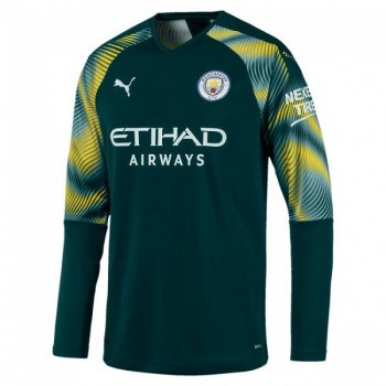 Puma Manchester City 19/20 GK Shirt Replica L/S 755601-07