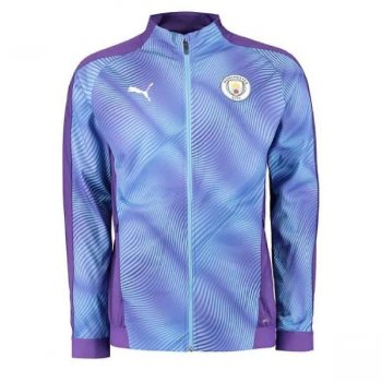 Puma Manchester City 19/20 Stadium League Jacket 755823-16