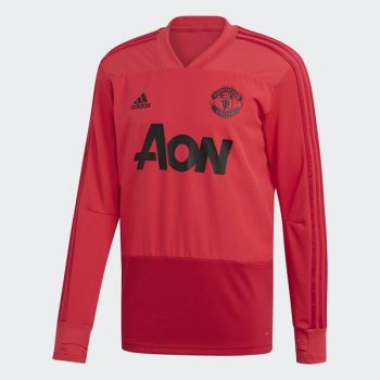 Adidas Man Utd Training Top CW7591