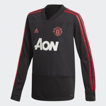 Adidas Man Utd 18/19 Training Top Kids CW7593