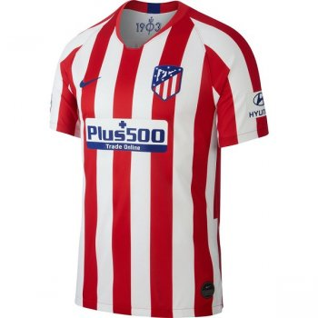 Nike Atletico Madrid 19/20 (H) Stadium Jersey AJ5523-612 with Nameset