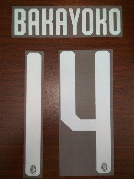 AC MILAN 18/20 H WHT #14 BAKAYOKO