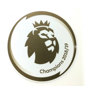 EPL 18/19 CHAMPION BADGE (19/20 MAN CITY)