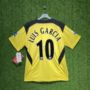 Reebok Liverpool FC 04/05 (AWAY) S/S JSY ACMF4015-200 w/ Nameset (#10 LUIS GARCIA) and EPL Badge